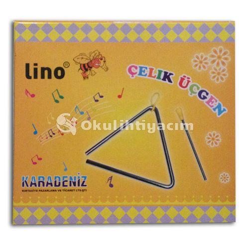 Lino Karadeniz Çelik Üçgen KKC-20